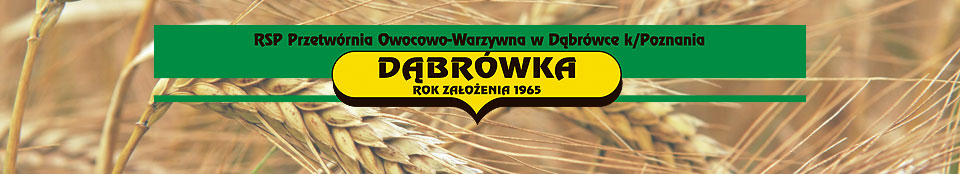 Sklep z wyrobami firmy RSP Dąbrówka