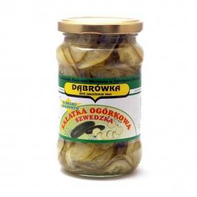 Sałatka ogórkowa szwedzka 350 g