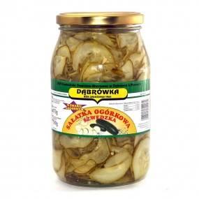 Sałatka ogórkowa szwedzka  900 g