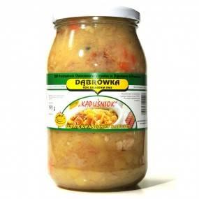 """Zupa z kwaszonej kapusty """"Kapuśniok"""" 890 g"""