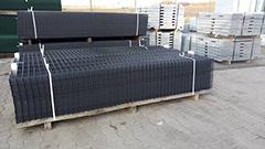 Panele ogrodzeniowe malowane 4mm