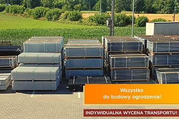 Ogrodzenia panelowe i akcesoria ogrodzeniowe - Marketstal