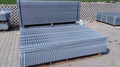 Panele ogrodzeniowe ocynkowane 4mm