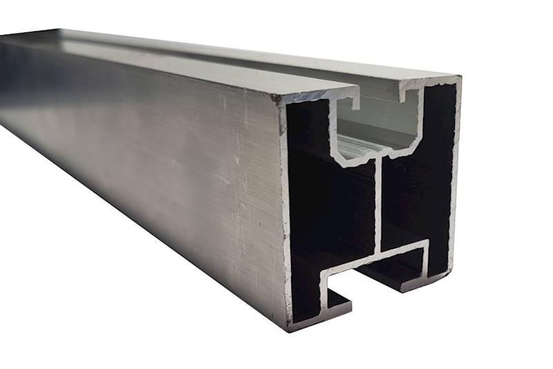 Profil aluminiowy 40 fotowoltaika młotkowy 6,21 m