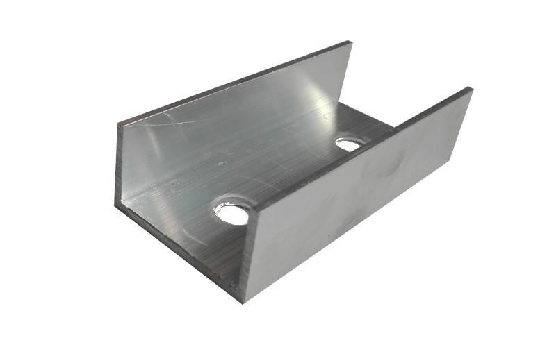 Łącznik szyn profili montażowych PV 45x25