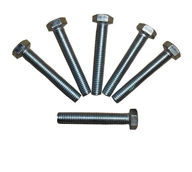 Śruba łeb sześciokątny pełny gwint OC DIN933 6x50