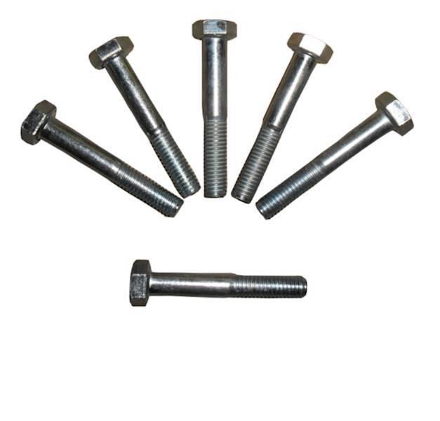 Śruba łeb 6-kątny niepełny gwint OC DIN931 10x100