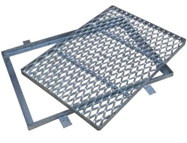 Wycieraczka metalowa OC 420X640 blacha cięto-ciągn