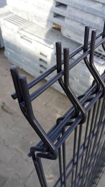 Panel ogrodzeniowy grafitowy Fi4 1230x2500 mm