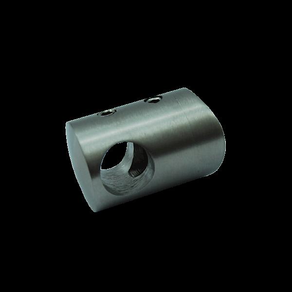 Uchwyt Przelotowy Do Rury 42,4mm Fi 16 Szlif INOX