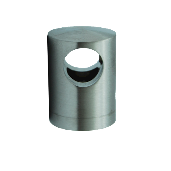 Uchwyt Przelotowy Na Płasko Fi 12mm Szlif INOX
