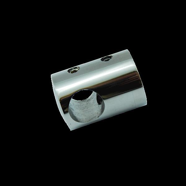 Uchwyt Przelotowy Na Płasko Fi 16mm Szlif INOX