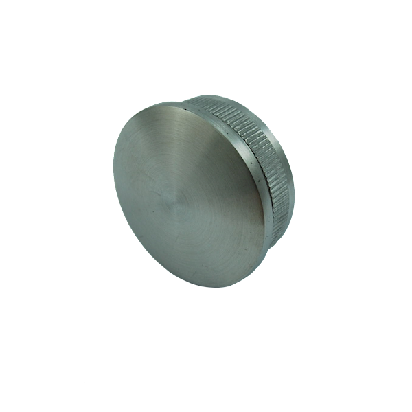 Zaślepka Soczewkowa Poręczy Fi 42,4mm Szlif INOX