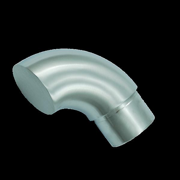 Zakończenie Poręczy, Kolanko Fi 42,4mm Szlif INOX