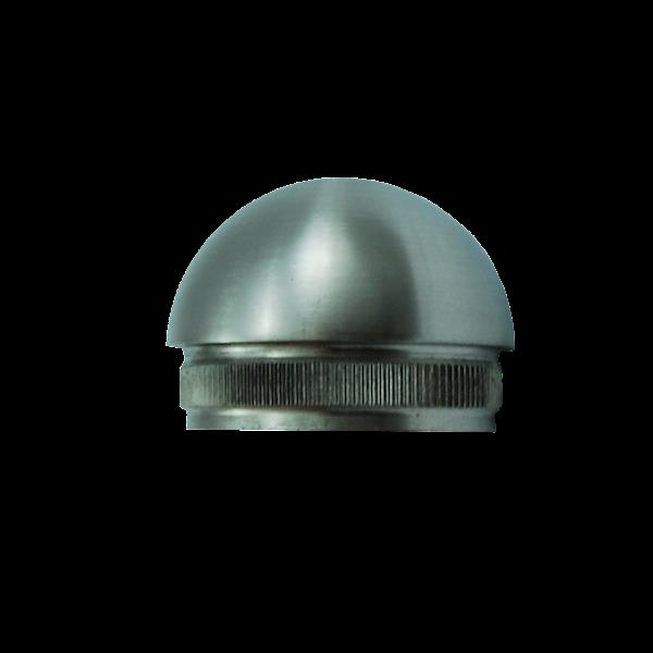 Zaślepka Poręczy Wypukła Fi 42,4mm Szlif INOX