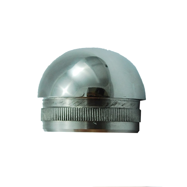 Zaślepka Poręczy Wypukła Fi 42,4mm Poler INOX