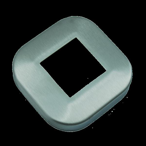 Rozeta maskująca profil 40x40mm szlif INOX