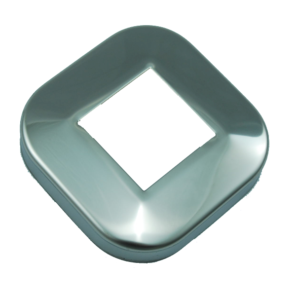 Rozeta maskująca profil 40x40mm poler INOX