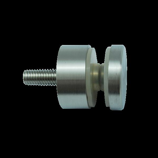 Uchwyt Punktowy Szkła, Fi 30mm Szlif INOX