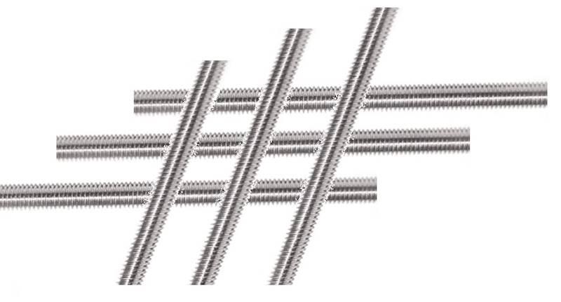 Pręt gwintowany nierdzewny 6x1000 kl. A2 DIN 975