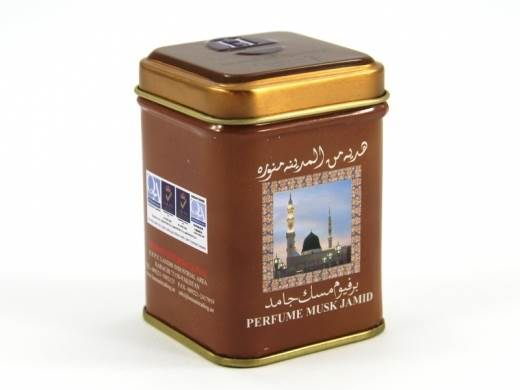 Kostka - perf.arab.czarne piżmo pudełko 25g