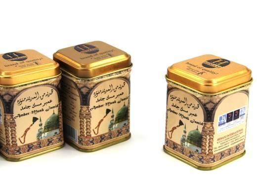 Kostka - perf.arab.pud.ambra, piżmo, jaśmin 25g