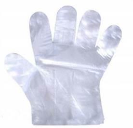 Rękawiczki foliowe HDPE 80szt
