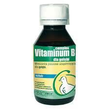 Vitaminum B complex dla gołębi 100ml BioFaktor
