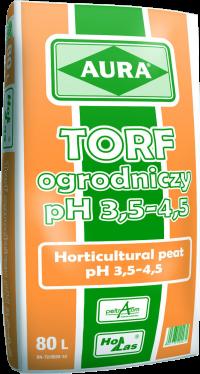 Ziemia Hol Las AURA 80l TORF kwaśny ph 3,5-4,5
