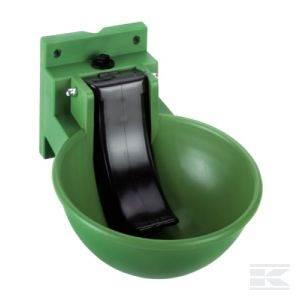 Poidło miskowe zielone z tworzywa