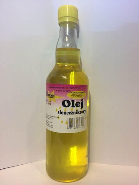 Olej słonecznikowy 500g