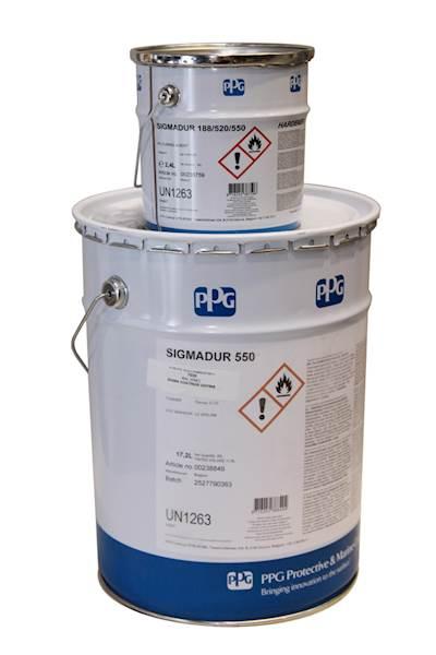 Sigmadur 550 Kolor 4 L kpl