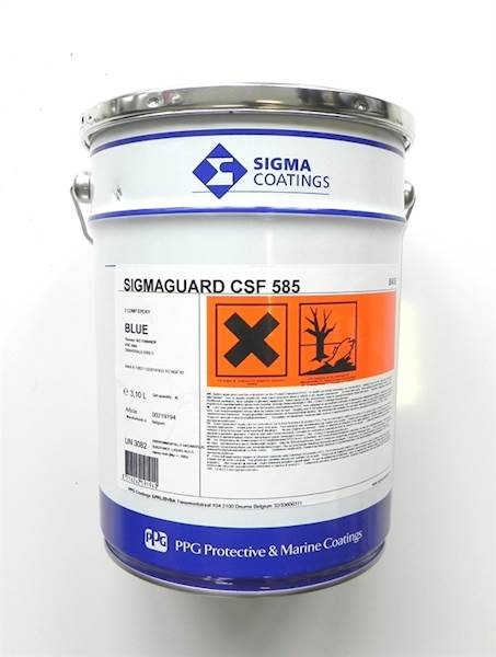 Sigmaguard CSF 585  niebieski 4L kpl
