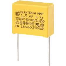 Kondensator MKP 1,5uF 275V X2 AC