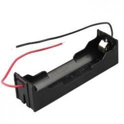 Uchwyt baterii 18650 x1 blaszki HQ