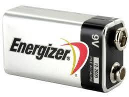 Bateria 6LR61 6F22 9V Energizer