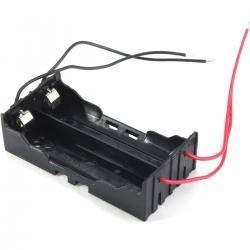 Uchwyt baterii 18650 x2 blaszki HQ