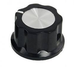 Gałka czarna 19mm GBC19 bakielit