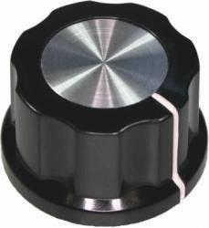 Gałka czarna 24mm GBC24 bakielit