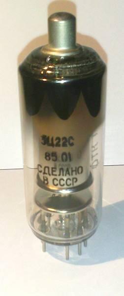 Lampa elektronowa 3C22S dioda 36kV 4,5mA