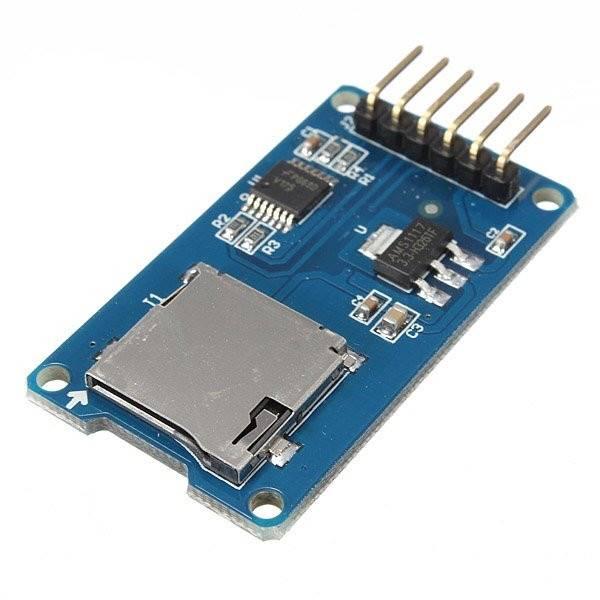 Moduł czytnika kart microSD T2