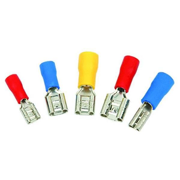 Konektor 4,8mm gniazdo izol. nieb. 1,5-2,5mm