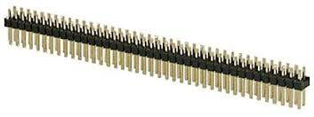 Listwa 2x40 pin GOLDPIN r=2,54 męska prosta