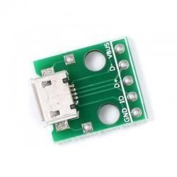 Gniazdo micro USB do płytki prototypowej T2