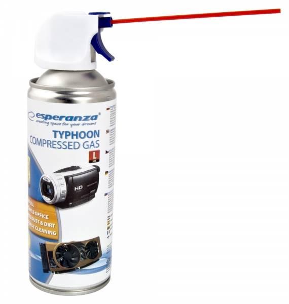 Spray sprężone powietrze 400ml TYPHOON