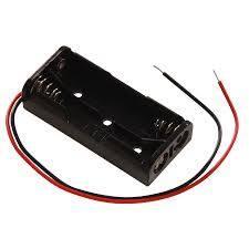 Uchwyt baterii B402 2xAAA z przewodem