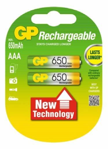 Akumulator R3 AAA 650mAh GP 1,2V