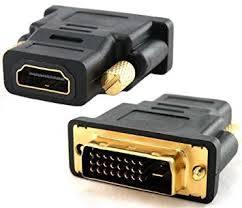 Przejście wtyk DVI x gniazdo HDMI
