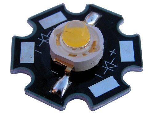 LED 1W UV 410-420nm star 300mA 3,2-3,4V