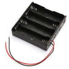 Uchwyt baterii 18650 x4